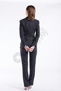 商务女性背影图片
