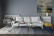 客厅沙发效果图图片
