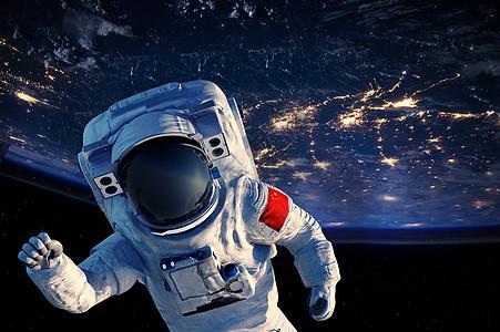 宇航员背景图片