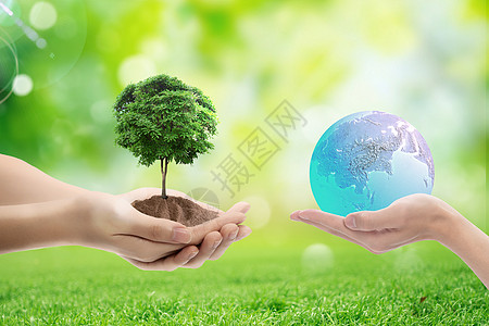 地球日概念图片