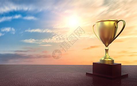 胜利的奖杯图片