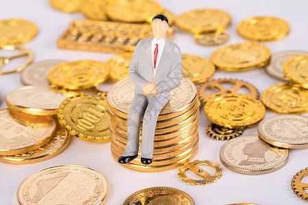 金币里的人偶图片