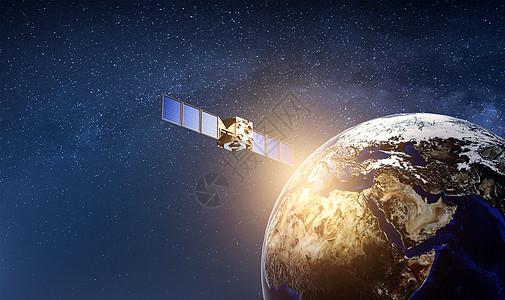 太空科技背景图片