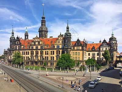 德国旅游名城德累斯顿建筑风光图片