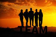 团队励志背景图片