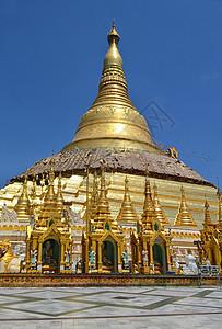 缅甸大金塔图片
