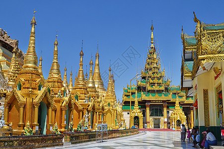 缅甸佛塔图片