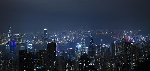 香港太平山夜景图片