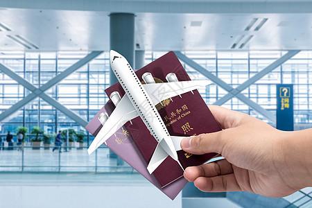 旅游护照图片