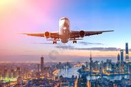 航空场景背景图片