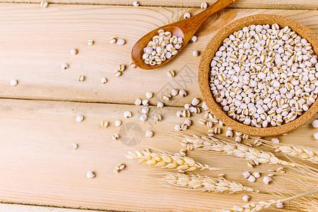 五谷杂粮薏米图片