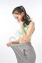 青年女性瘦身成功图片