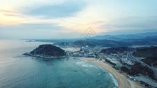 韩国地标襄阳海滨图片
