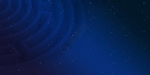 星空科技蓝色背景图片