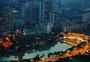 成都九眼桥和府南河图片