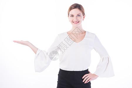 开心的外国女性白领推荐图片