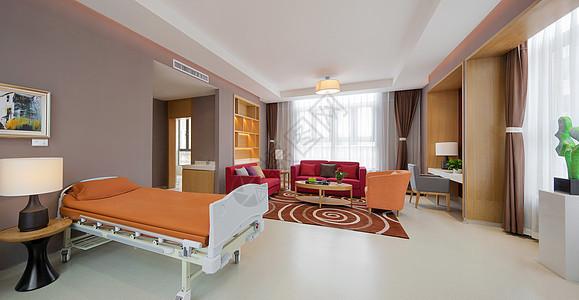 医院高级病房图片