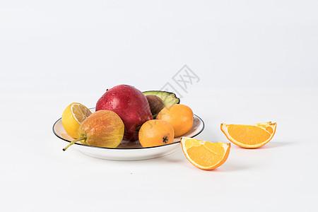 白底新鲜水果图片图片