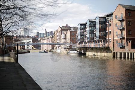 英国利兹城市风光图片