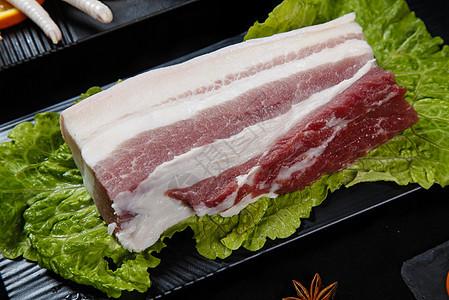 生鲜五花肉图片