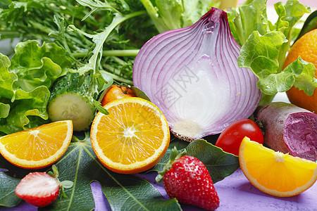 果蔬背景图片