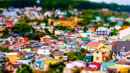 越南大叻城市微缩景观图片