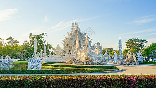 泰国清莱白庙图片