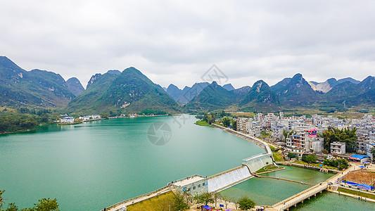 广西靖西市城市景观图片