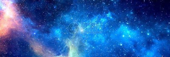 星空banner背景图片