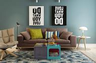 室内客厅沙发图片