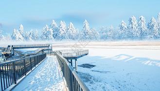 黑龙江雪景图片