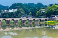 安徽古徽州新安江风光图片