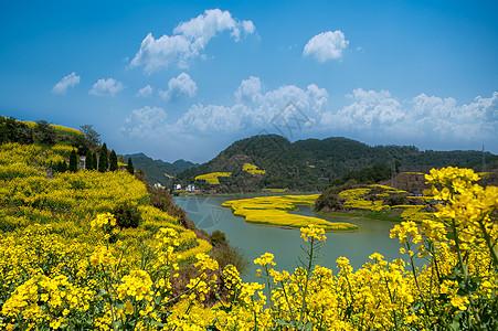 安徽古徽州新安江清明时节风光图片