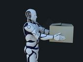 机器人物流运输图片