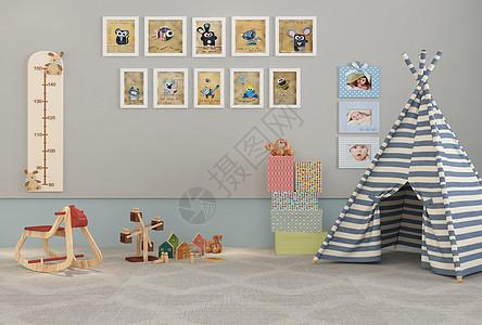 儿童房娱乐区域图片