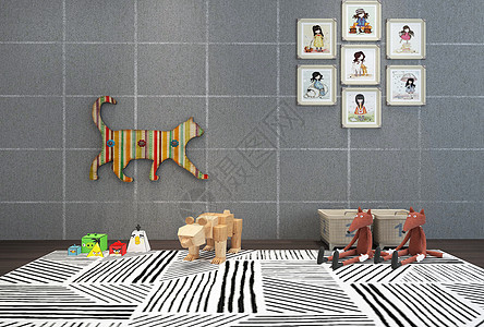 儿童玩具区域图片