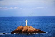 舟山东极岛东福山灯塔图片