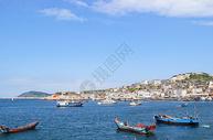 舟山东极岛渔港码头 图片