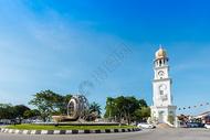 马来西亚槟城街景图片