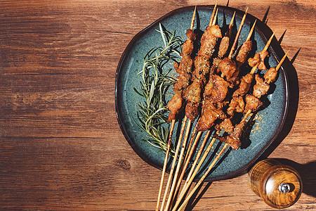 美味风情羊肉串图片