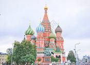 俄罗斯莫斯科圣瓦西里升天教堂图片