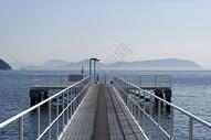 日本海上栈道图片