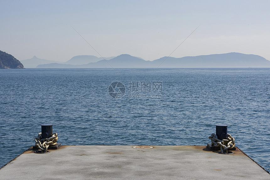 日本濑户内海大海风情图片