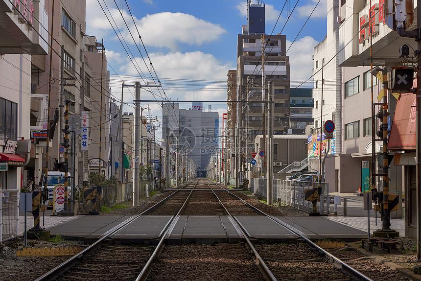 日本电车铁道图片