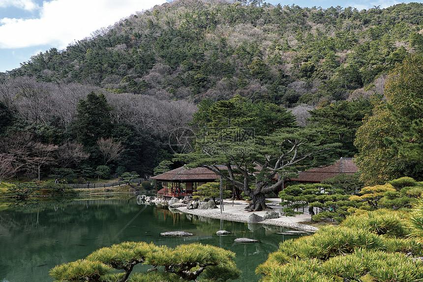 日本花园园林景观图片
