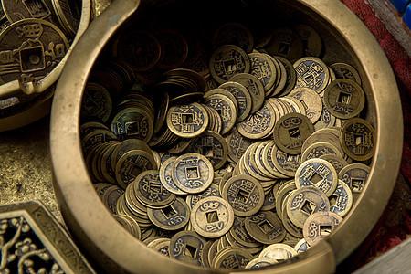 铜制品古玩钱币图片