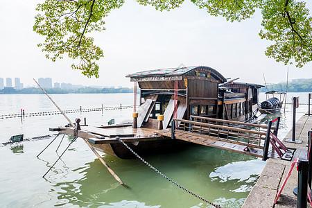 嘉兴南湖红船图片