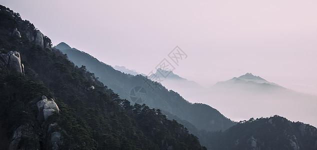 美丽的九华山图片