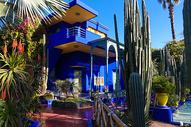 摩洛哥马约尔花园图片