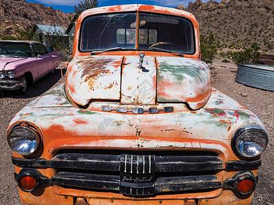 美国复古老爷车图片